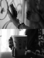 (S A R A ' S A A D ) Tags: bw cup canon big sara sis saad myy walla thaaanx nouraaa