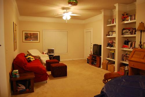 Clean Living Room!