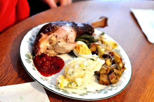 Ben's plate
