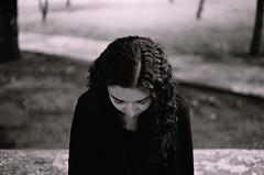 (Fernando Gallegos...) Tags: trees woman tree blanco girl contrast hair arbol mujer arboles negro diana contraste cabello