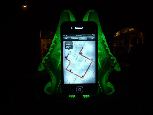 Vitrines Nike - Londres, novembre 2010