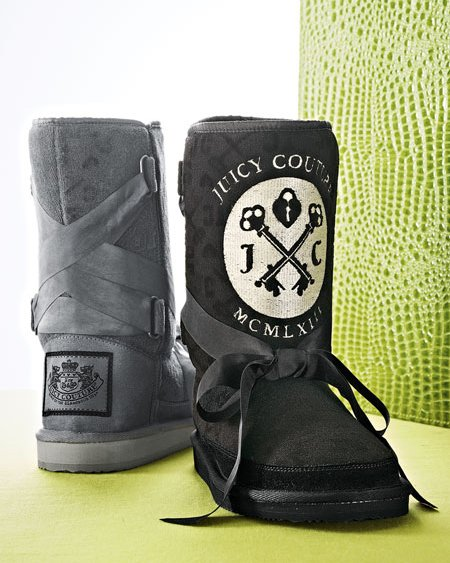 Juicy Couture Terry Mixer Logo Boot