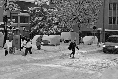 Jour de neige en Savoie