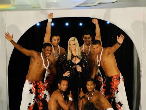 Banda Acaiaca e dançarinos - Miss Ceará 2011 - 30/11/10
