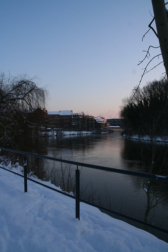 Peißnitz im Winter