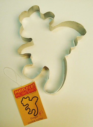 Gingerbread dragon whelp cookie cutter