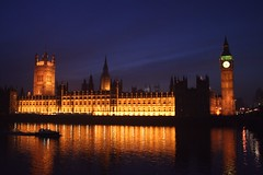 Houses of Parliament by night, London (Gavin McEwan) Tags: london thames night housesofparliament
