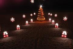 Stenciled Christmas Tree