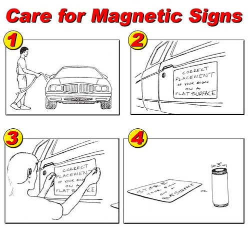 The Sign Studio, Burbank CA, Car Magnetics, car signs, vehicle signs, magnetic signs