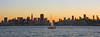 San Francisco Skyline, Sunset, Sailboat
