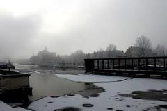 no.12 (Alice_Ice) Tags: city winter mist snow cold ice netherlands amsterdam fog town frozen bevroren sneeuw nederland wit stad ijs