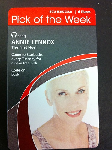 Starbucks iTunes Pick of the Week - Annie Lennox - The First Noel