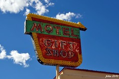 Motel & Gift Shop (pam's pics-) Tags: newmexico shop hotel lodging rusty motel nm crusty smalltown giftshop motorinn motorlodge northernnewmexico pammorris labordayroadtrip questanewmexico nikond5000 denverpam