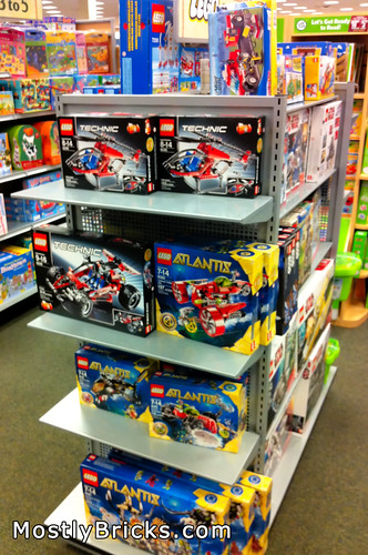 LEGO Displays at Barnes & Noble (South Austin)
