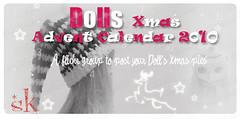 Dolls Xmas Calendar 1o'