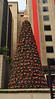 Weihnachtsdeko auf der Paulista Avenue in Sao Paulo
