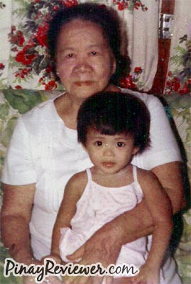 My beloved lola and me - PinayReviewer.com