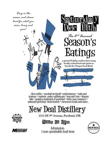 New Deal 2nd Annual Season's Eatings: Food, Wine, Spirits