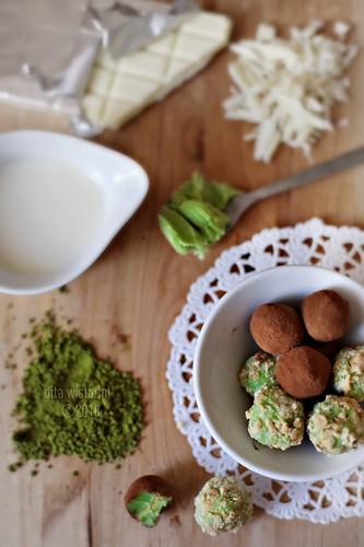 Greentea truffles