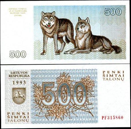 500 Talonu Litva1993, P46