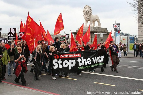 communist party stop the war