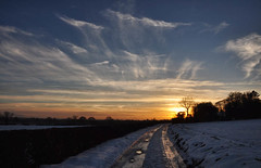 Winter sunset (geoffspages) Tags: winter sunset landscape yorkshire
