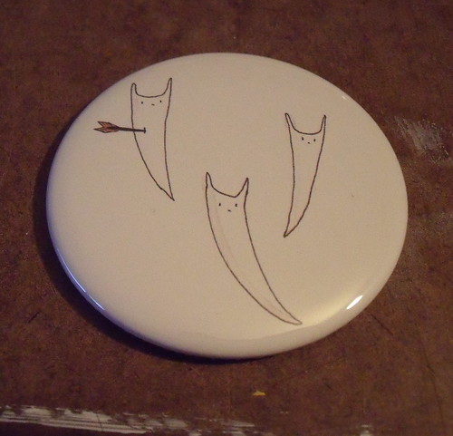 bat ghost mirror