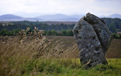 Standing Stone And The Hills