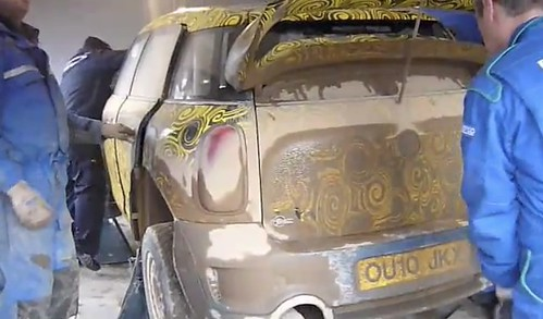 MINI WRC Test Sardinia 12/2010