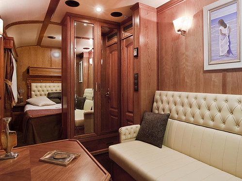 El Transcantabrico - interior of Privilege Suite