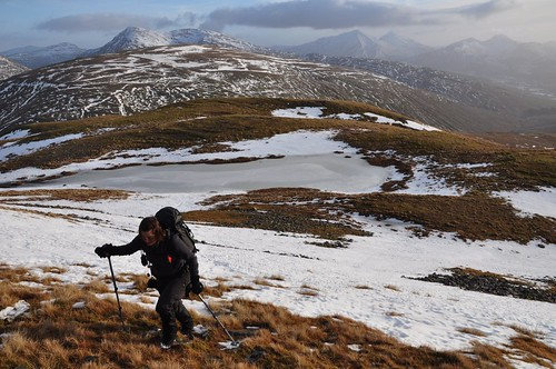 Nearing the top of Beinn Odhar