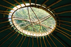 The eye of Heaven (2muchtee) Tags: wales transition yurts peakoil darkmountain transitiontowns