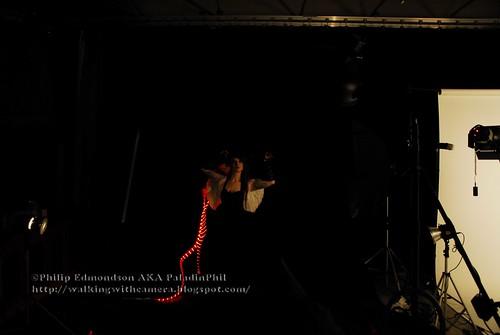 LED rope trick