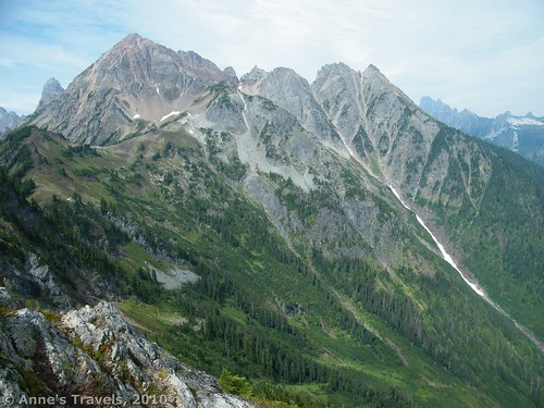 The mountains around the Twin Lakes, Mt. Baker-Snoqualmie National Forest, Washington