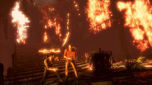 UNCHARTED 3: Drake's Deception gameplay screenshot