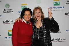Bettina and Dr Judy (ARTIVIST.com) Tags: film f fest piero artivist giunti nyc2010