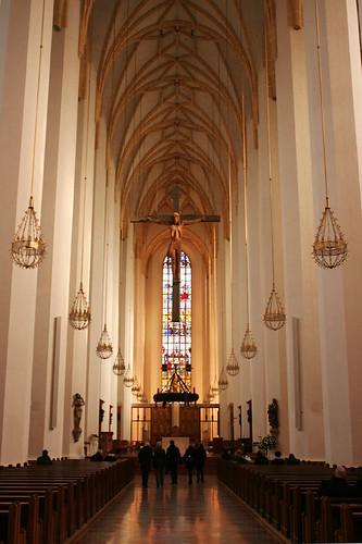 inside the Frauenkirche