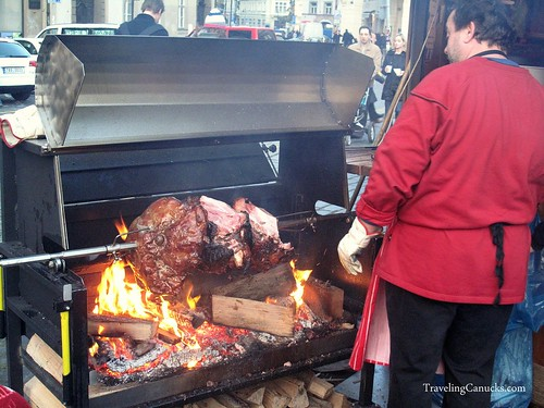Pig Roast in Prague, Czech-Republic