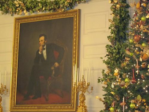 Thoughtful Abe.