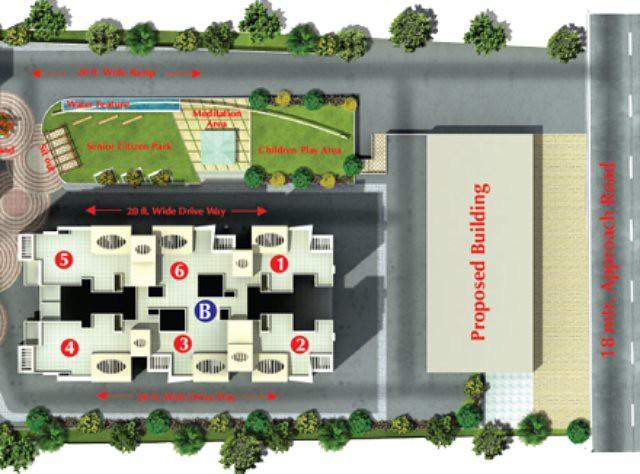 Wisteriaa Wakad Pune B Building Flat Numbers