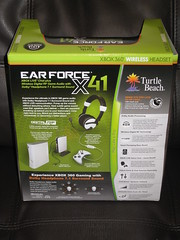 Turtle Beach Ear Force X41 - Dolby 7.1 headphones w chat for Xbox 360 (back) (OpTILLmus) Tags: beach for chat turtle w xbox 360 71 headphones dolby x41 earforce