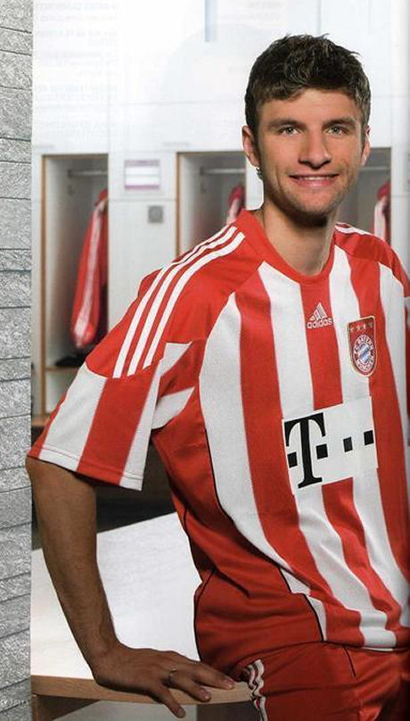 Pictures of Thomas Mueller
