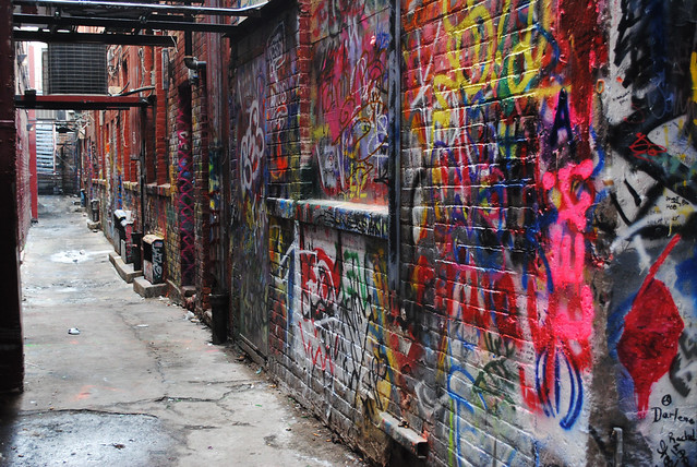 more of graffiti alley