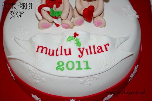 Yılbaşı pastası 2011