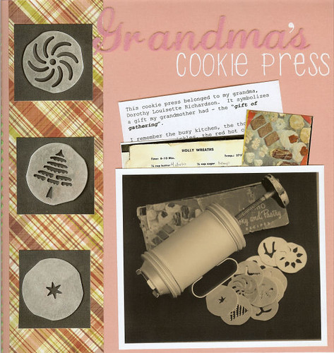 grandma's cookie press