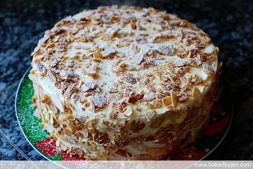 Baked By Jen Burnt Almond Cake Take 2