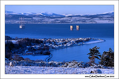 My little town (ccgd) Tags: blue scotland town highlands rig cromarty coastuk gettyimagesuklocation
