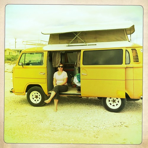 Resting in the Kombi