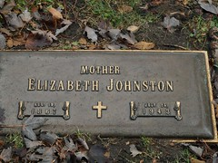 Elizabeth Johnston (Gemma E. Petrie) Tags: family chicago graves southside kin mountgreenwood mtgreenwoodcemetery