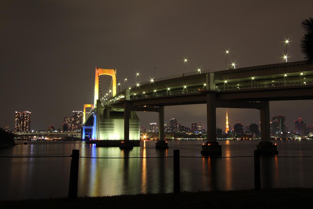 Rainbow bridge illumination 01(TOKYO)